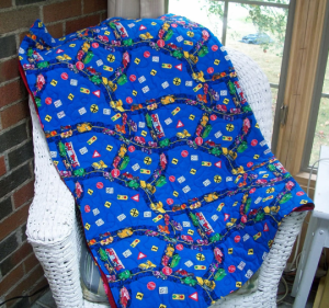 All Roads Quilt- Quilted Play Mat