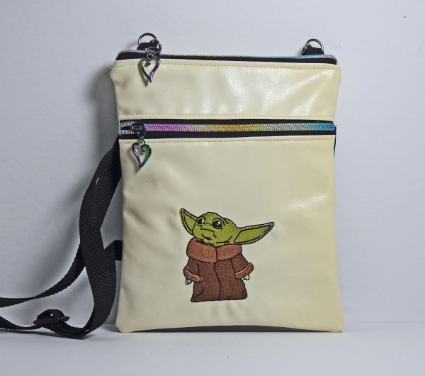 Yoda cross shoulder bag